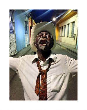 Drunk singer, Santiago de Cuba